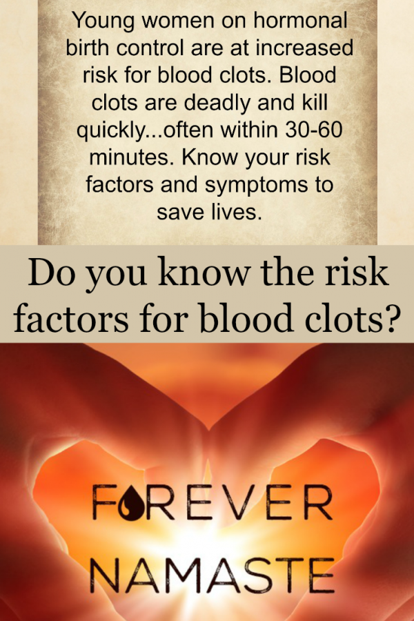 Young Women and Blood Clots – Do you know your risk? #NWHW