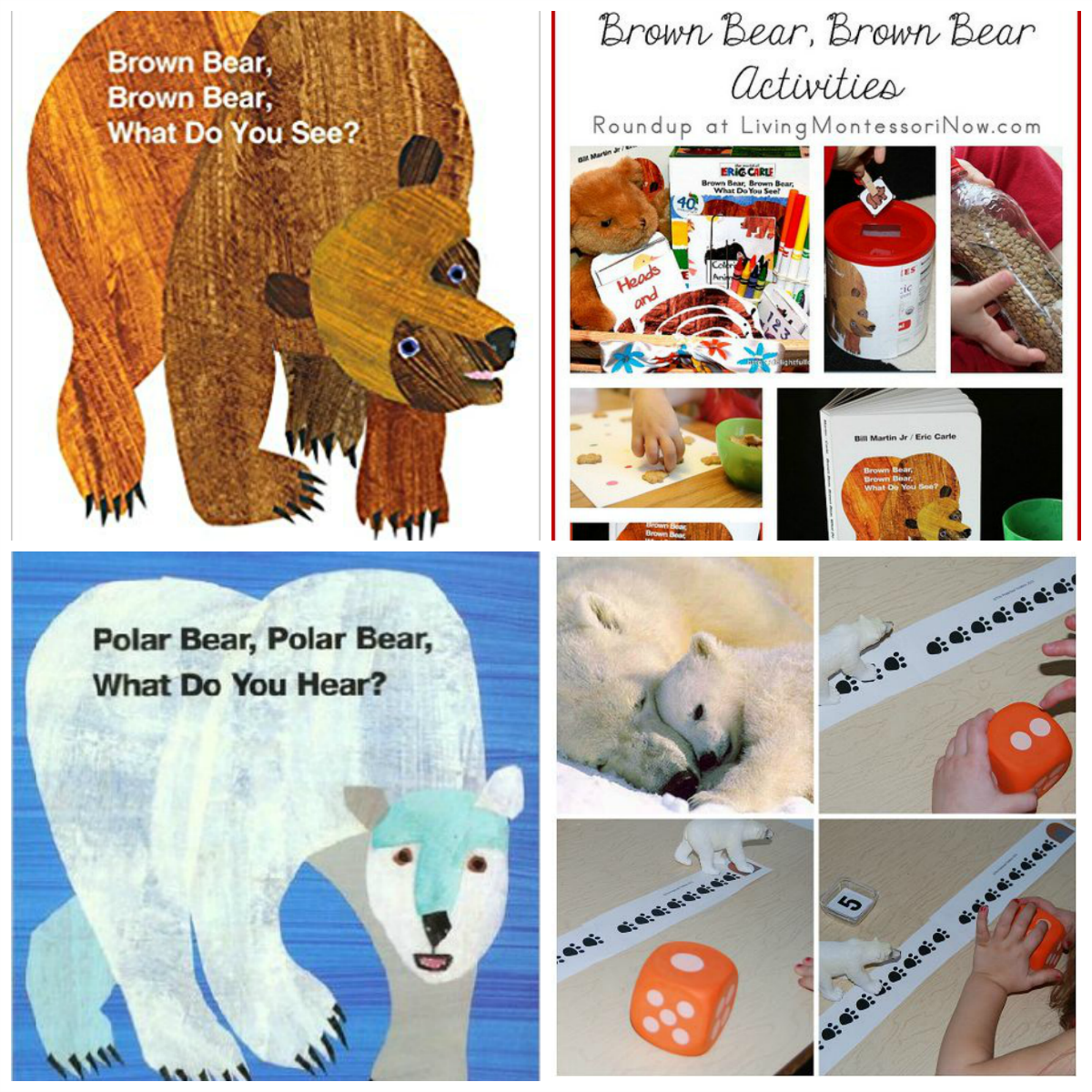 Eric Carle Theme And Author Study Activities For Preschool The Polar Bear What Do You Hear Save