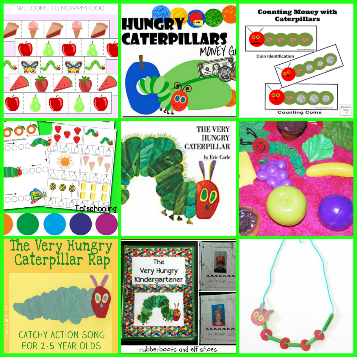 Eric Carle Theme and Author Study Activities for Preschool! • The ...