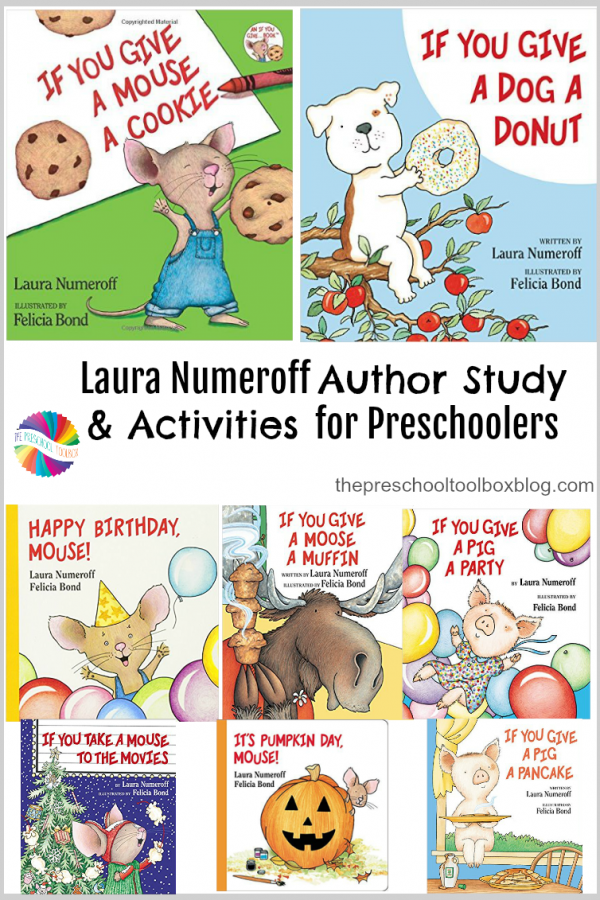 Laura Numeroff Author Study and Activities for Preschool!