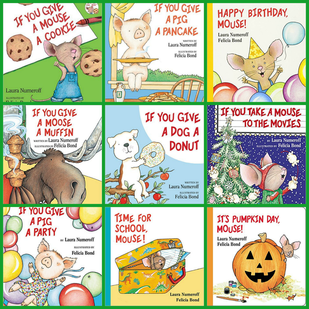 Laura Numeroff Books for Preschool