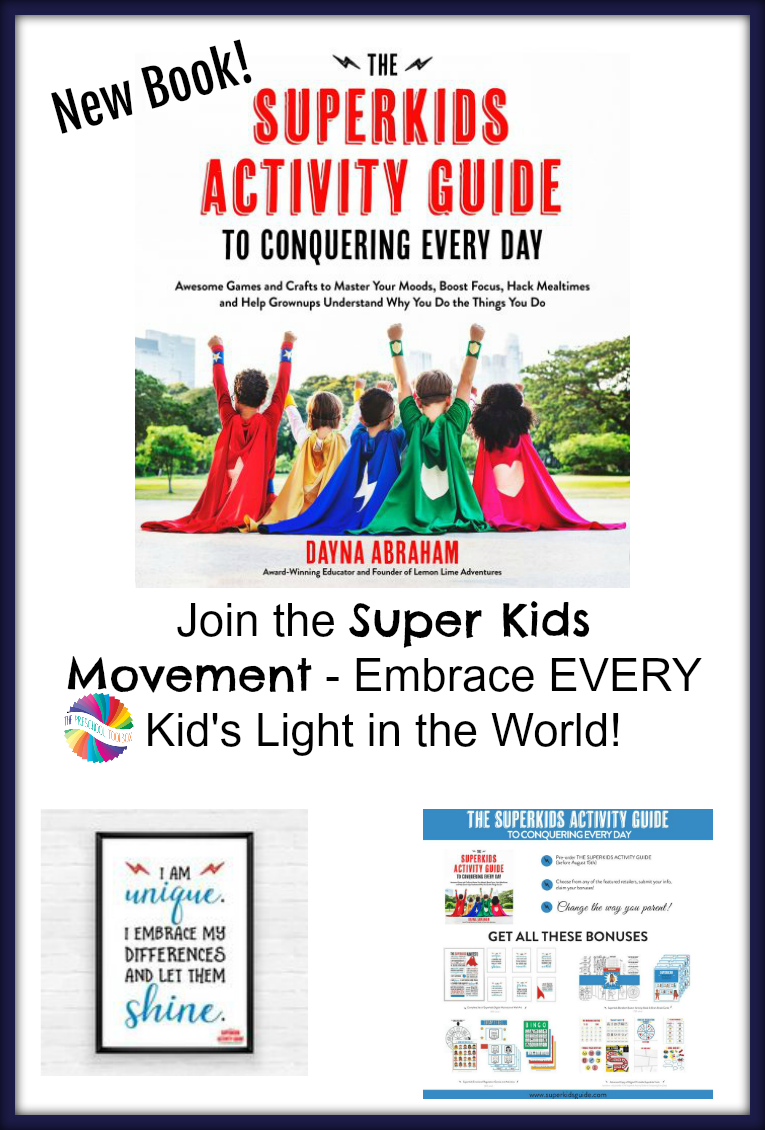The Super Kids Activity Guide for Conquering Every Day by Dayna Abraham