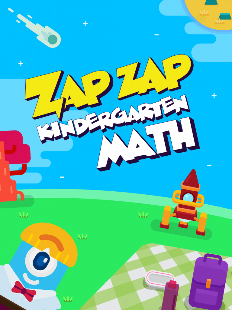 Intuition Math with the Zap Zap Kindergarten Math App