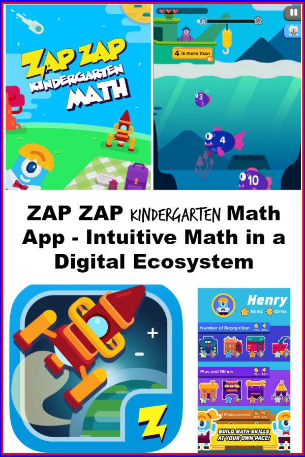 Encourage Intuitive Math Skills with #ZapZapMath for Kindergarten!