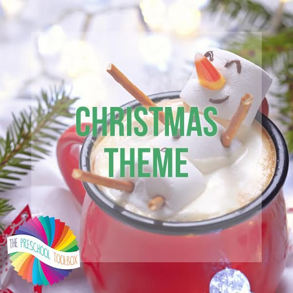 Seasonal Christmas Playful Learning Theme for Preschoolers!