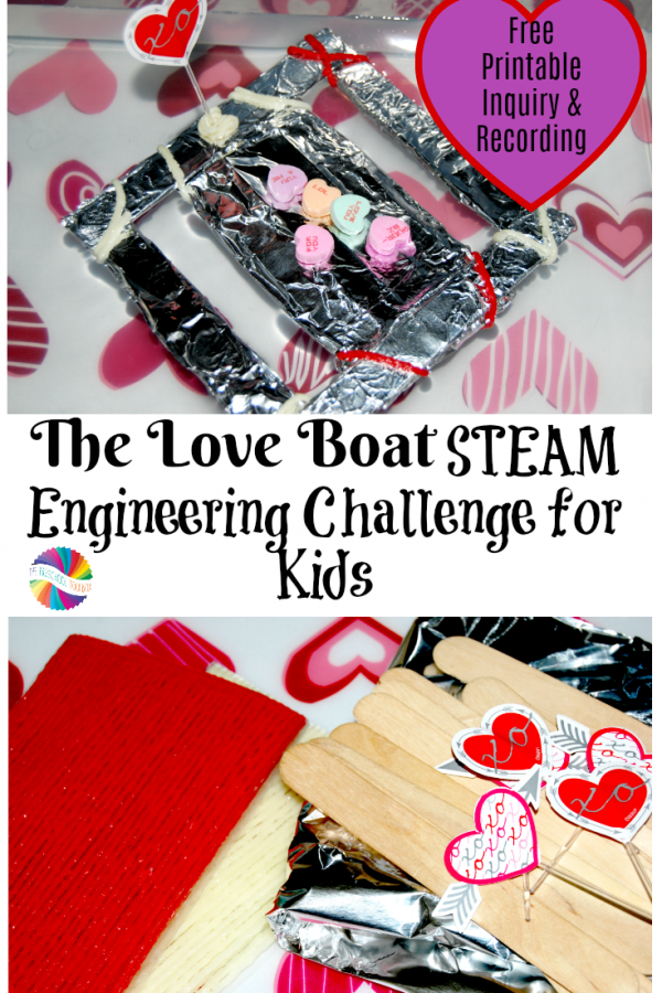 The Love Boat STEAM Engineering Challenge for Kids!