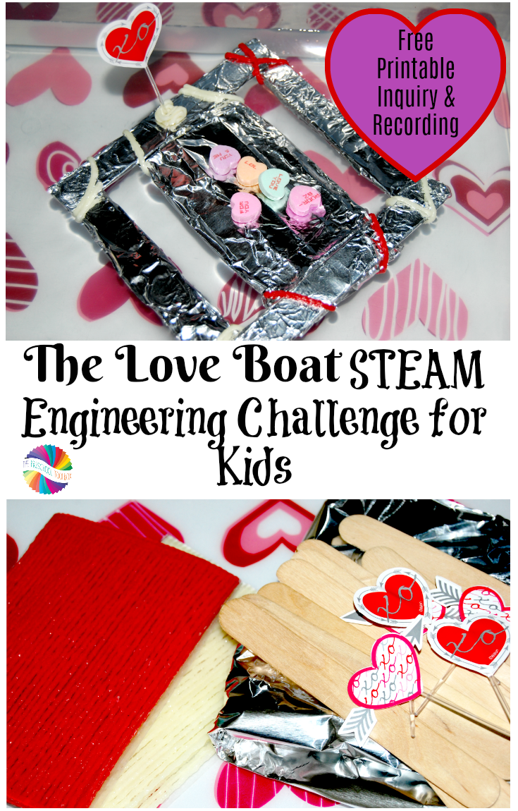 The Love Boat Steam Engineering Challenge For Kids The Preschool Toolbox Blog