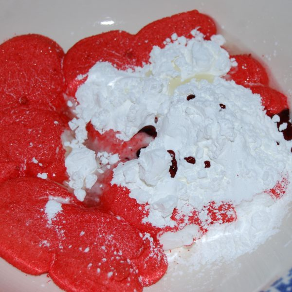 Valentine's Day PEEPS Playdough and STEAM Challenge