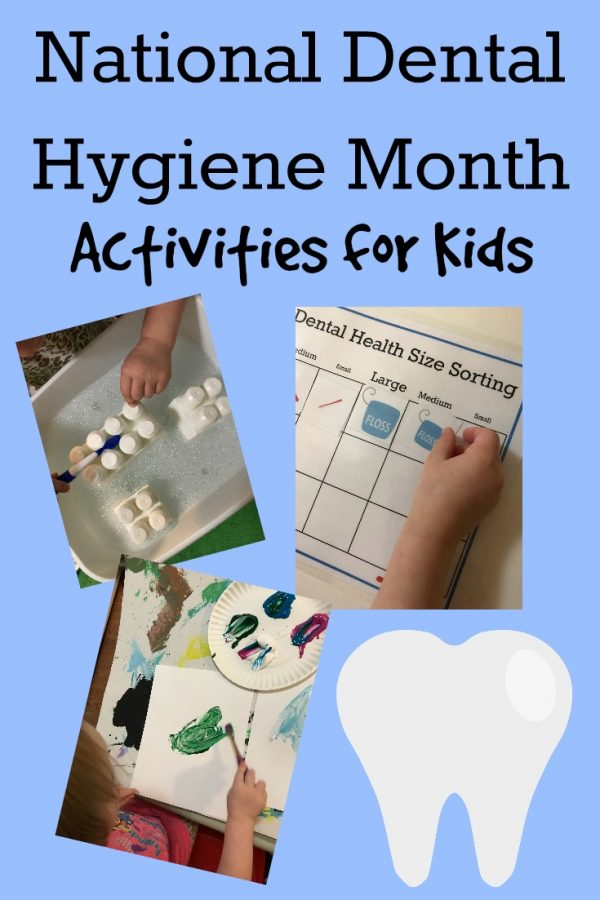 Dental Hygiene Activities for Preschoolers
