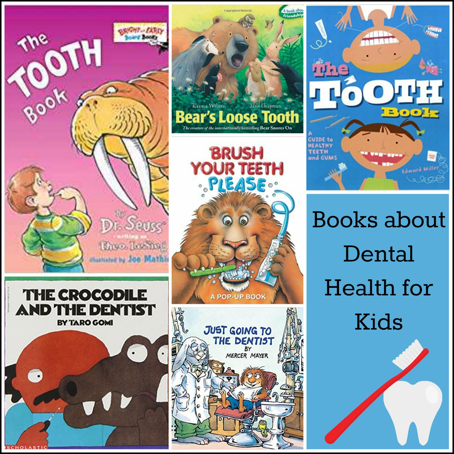 Tooth Books for Preschoolers