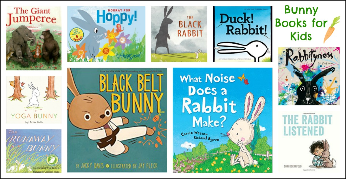 Rabbit or Bunny-Themed Book for Preschoolers