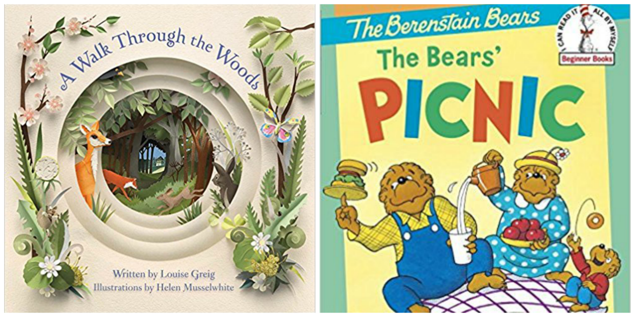 Spring and Nature Books for Preschool
