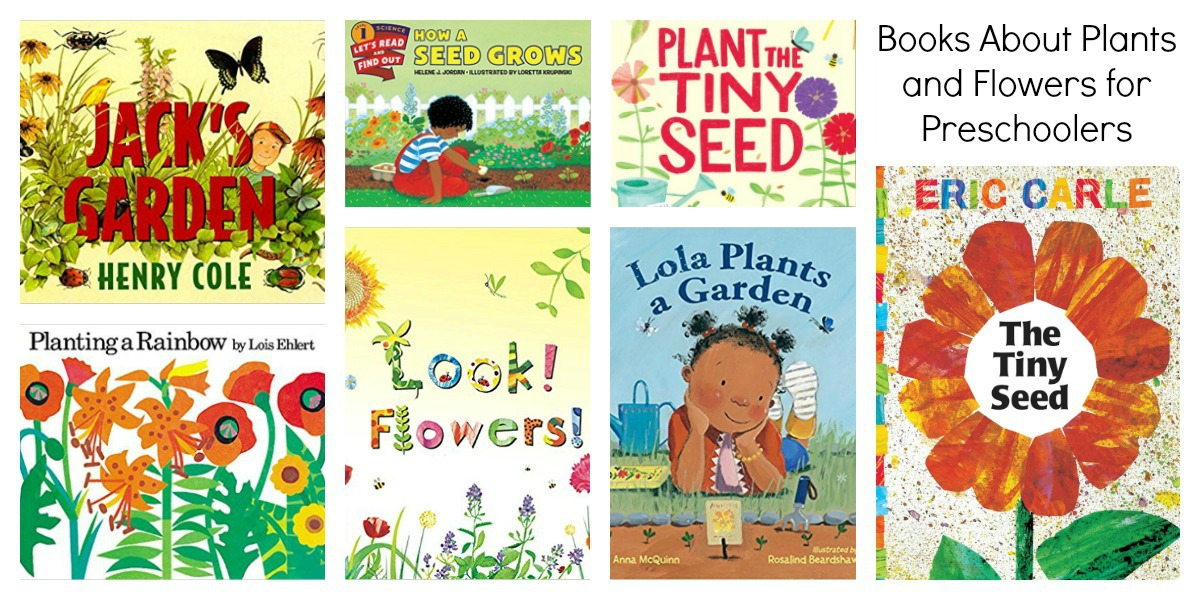 Preschool Books about Plants and Flowers