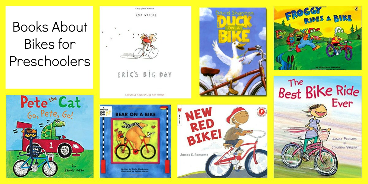 Books about Bikes for Preschoolers
