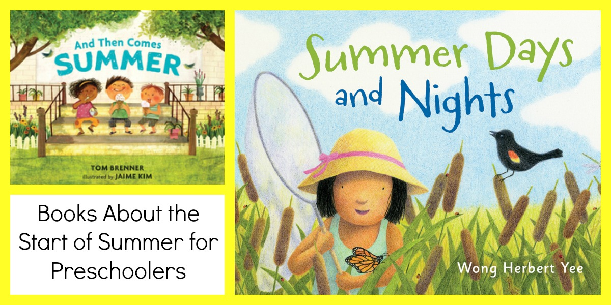 Summer Books and June Activity Calendar for Preschoolers