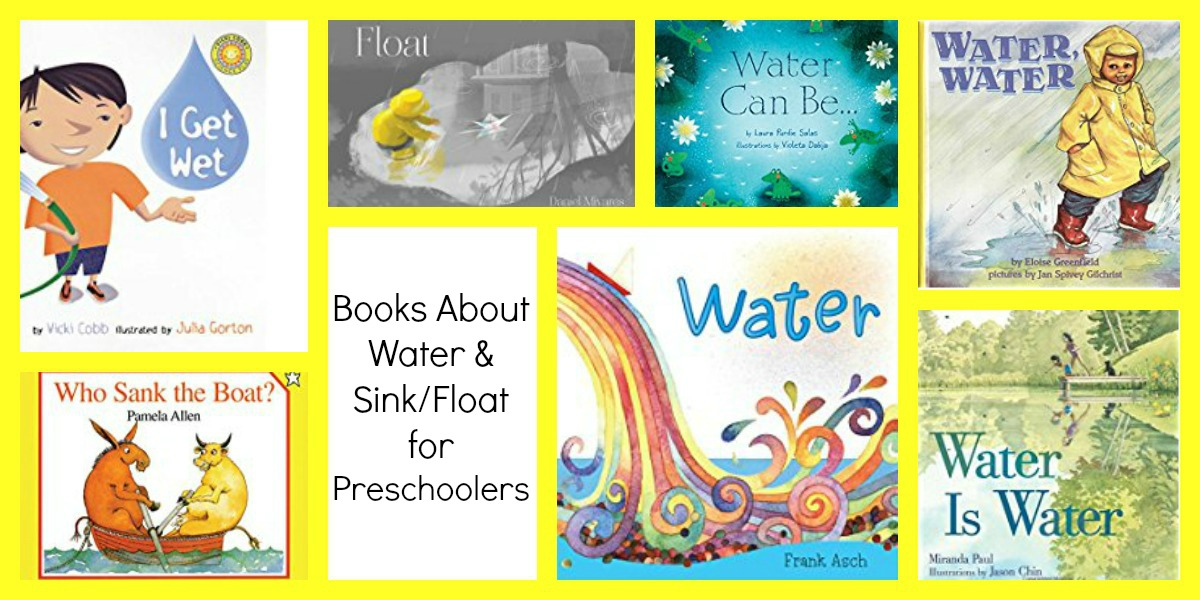 Preschool Books about Water and Boats