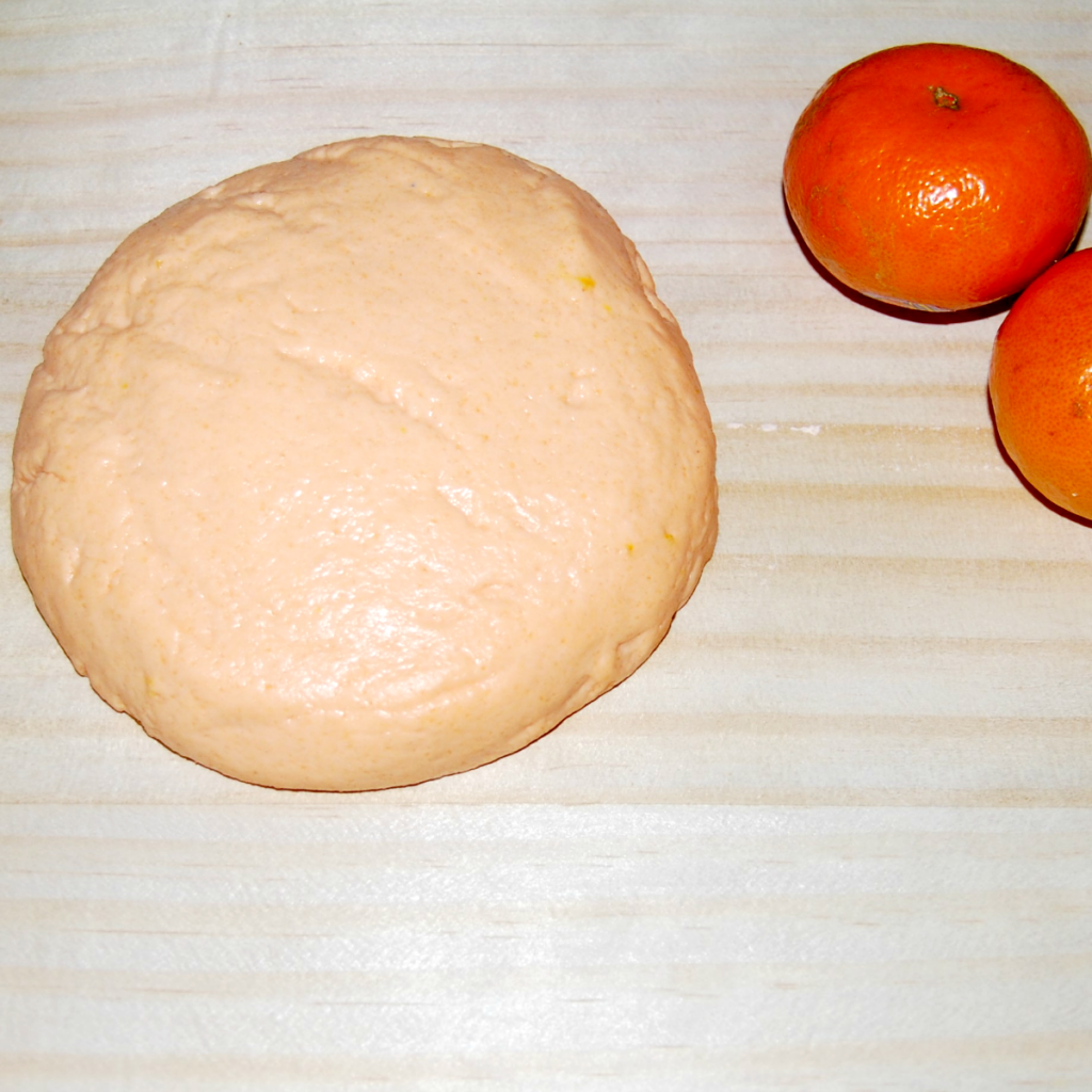Mandarin Orange Playdough Recipe