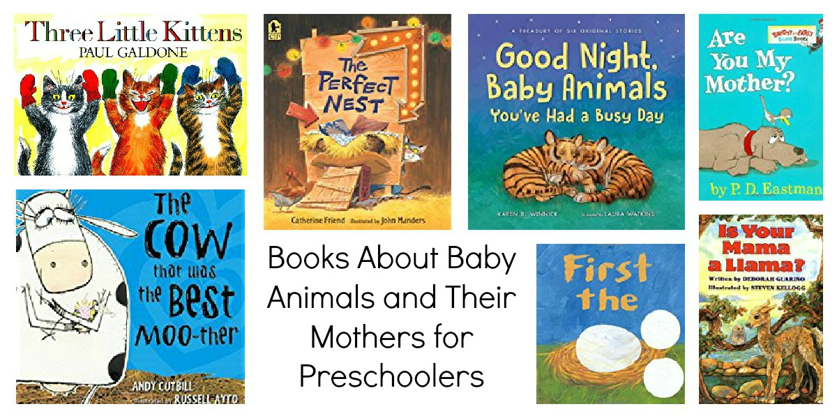 Animal Babies Books for Preschoolers