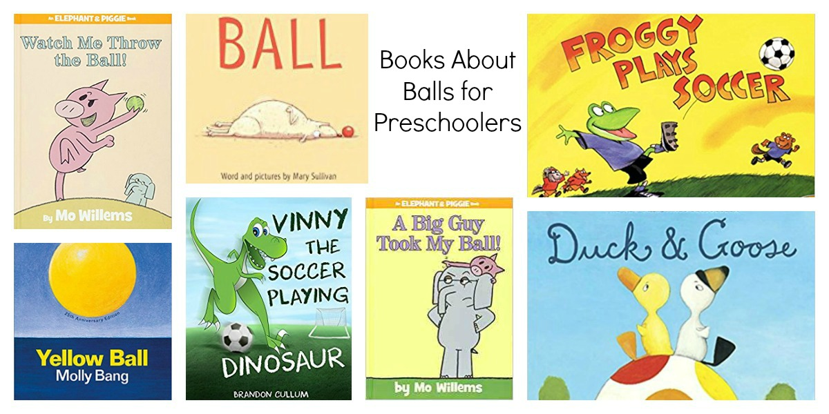 Ball Books for Preschool