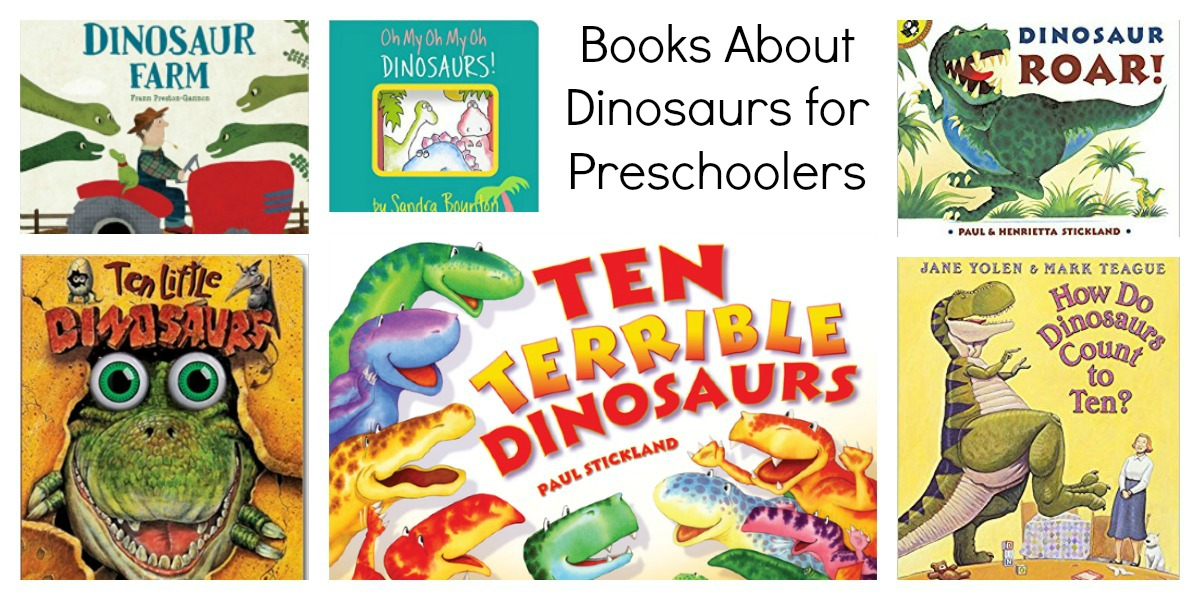 Books about Dinos for Preschool