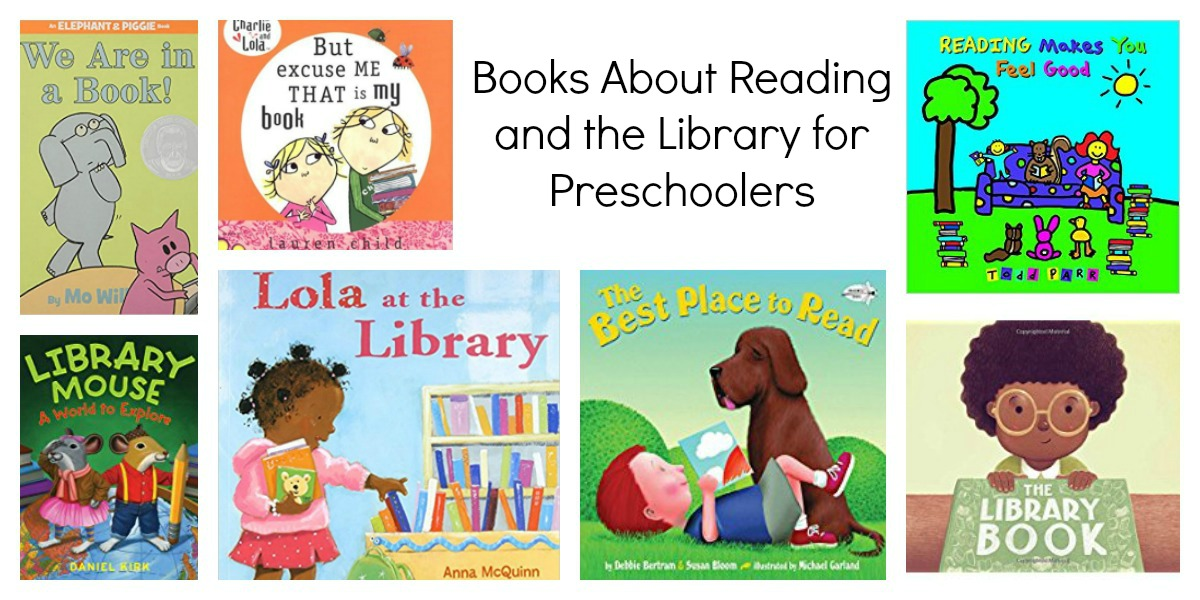 Book List about Reading for Preschoolers