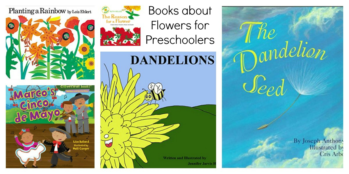 Flowers and Weeds Book Suggestions for Preschoolers