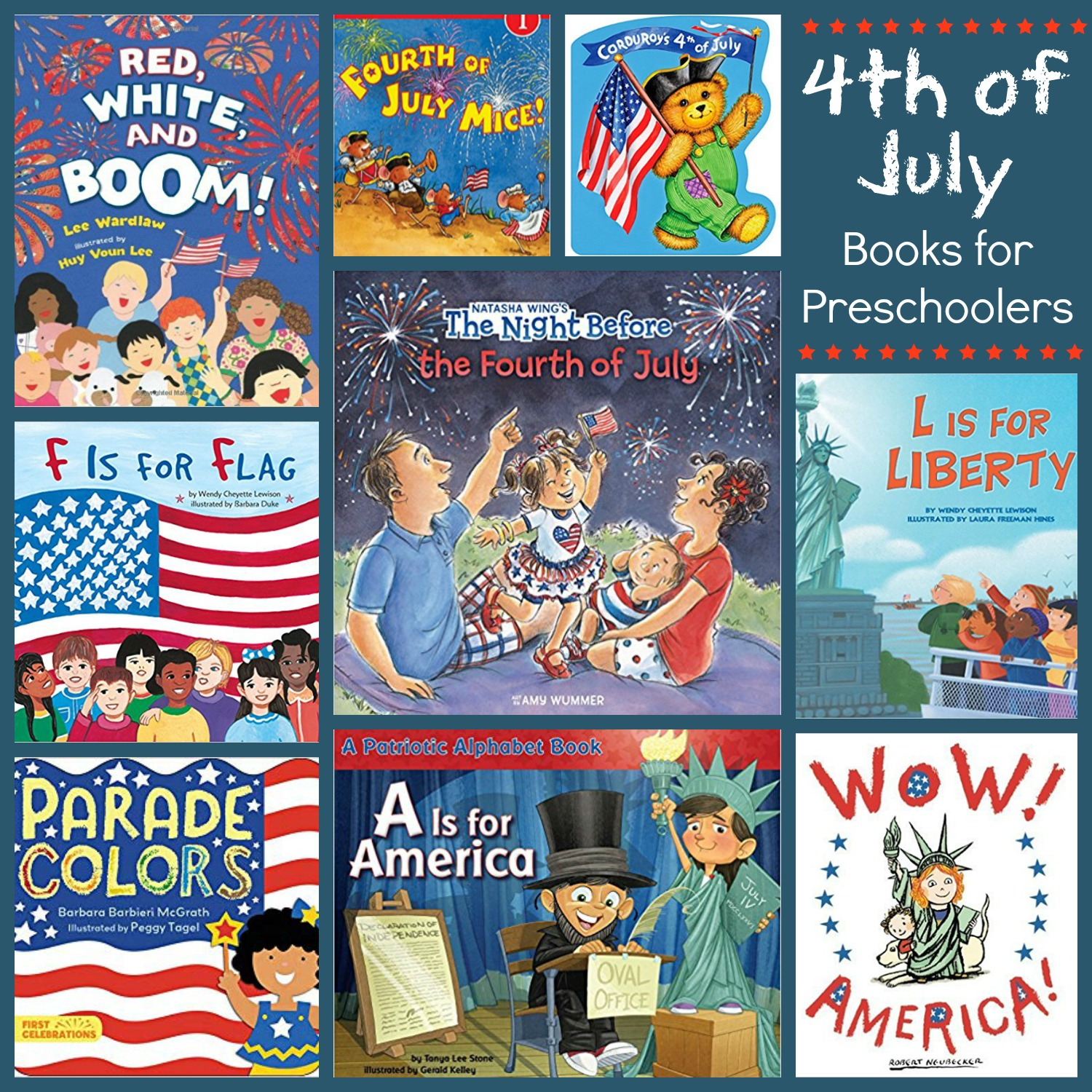 Books to read to kids on the 4th of July