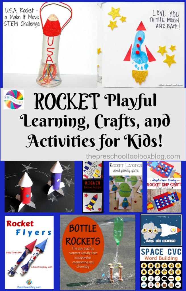 Rocket STEM/STEAM, Crafts, and Playful Activities for Kids! • The