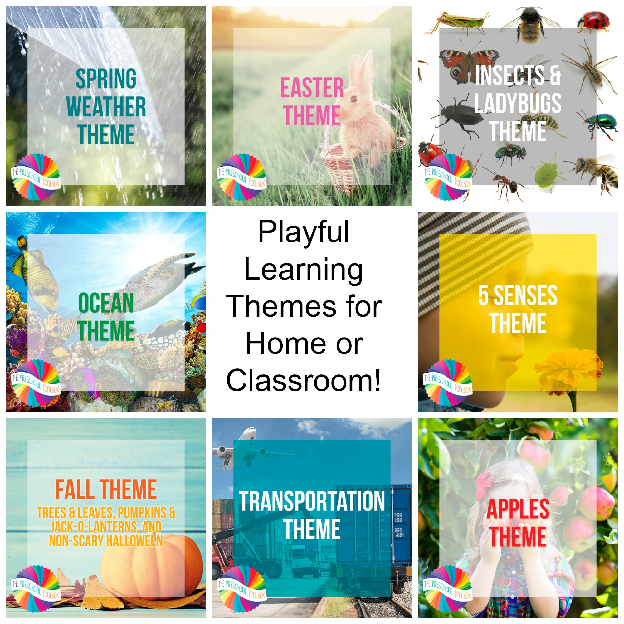 Learn through play with themes your preschoolers will love.