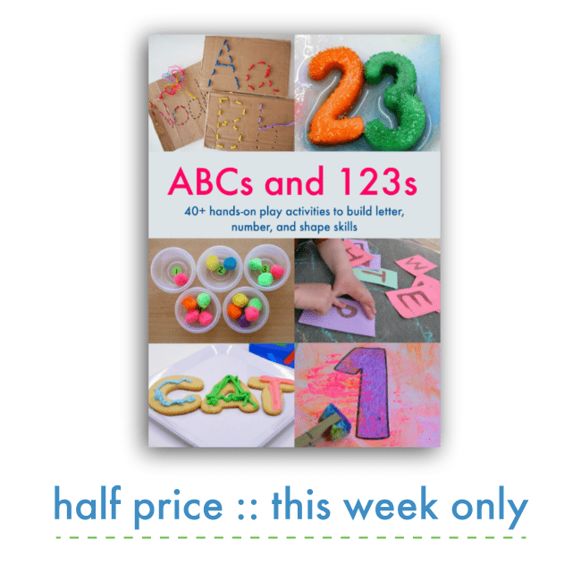 ABCs and 123s Playful Learning eBook Sale