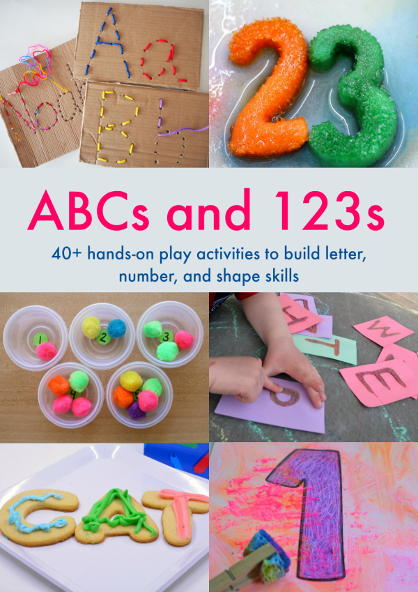 ABCs and 123s Activities for Preschoolers