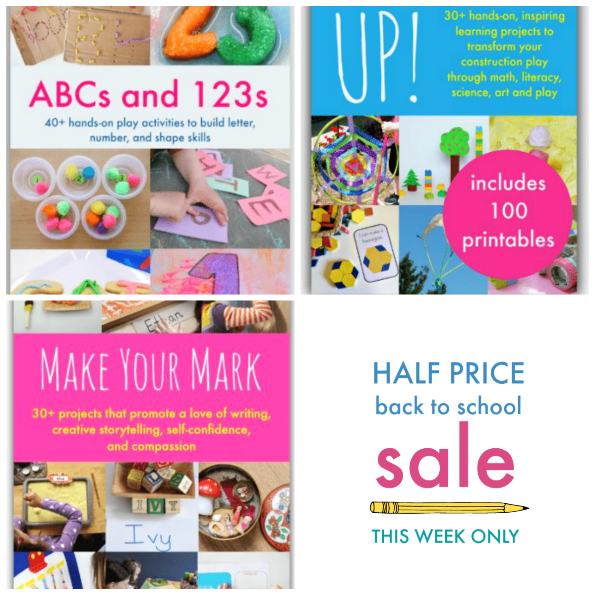 Playful Learning eBooks for Preschoolers Back to School Sale