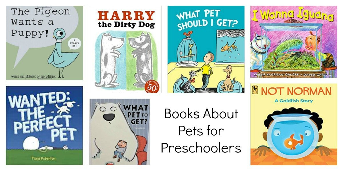 Preschool Books About Pets