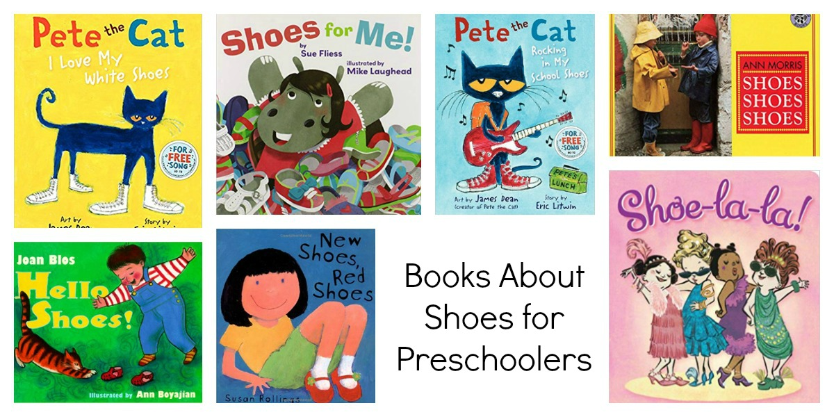 Books for Preschoolers About Shoes