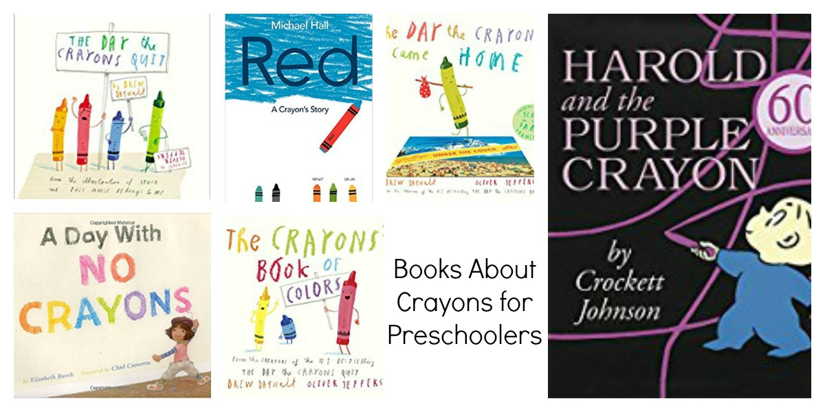 Books about Crayons for Preschool