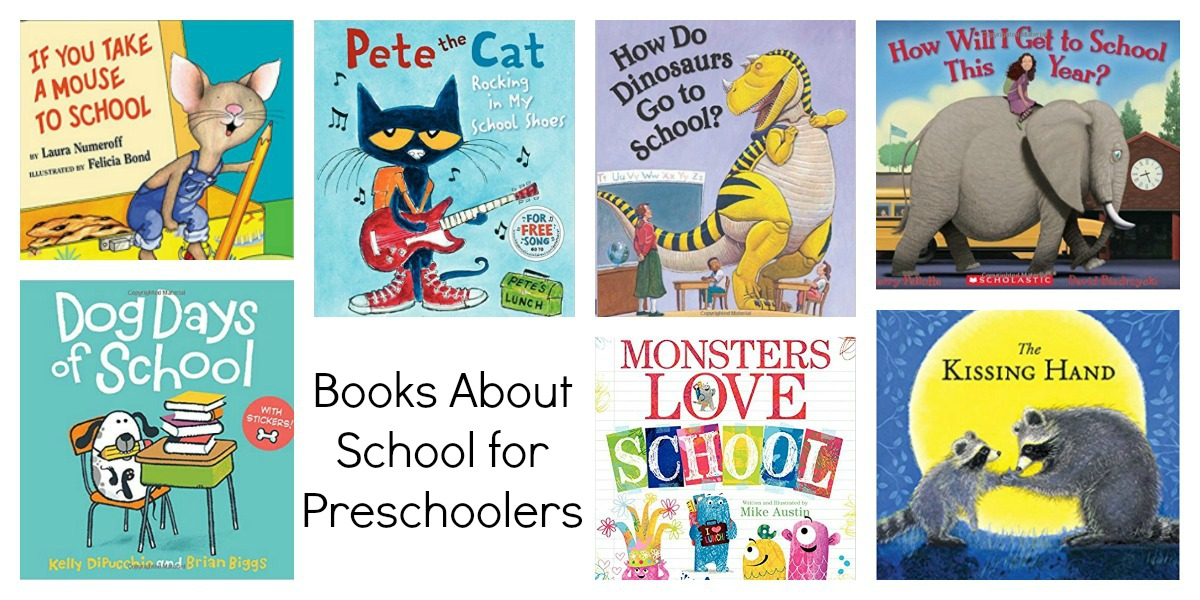 Preschool Books for the Beginning of School