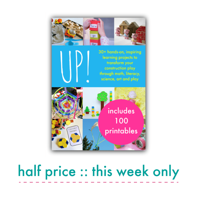 UP! Playful Learning eBook for Preschoolers
