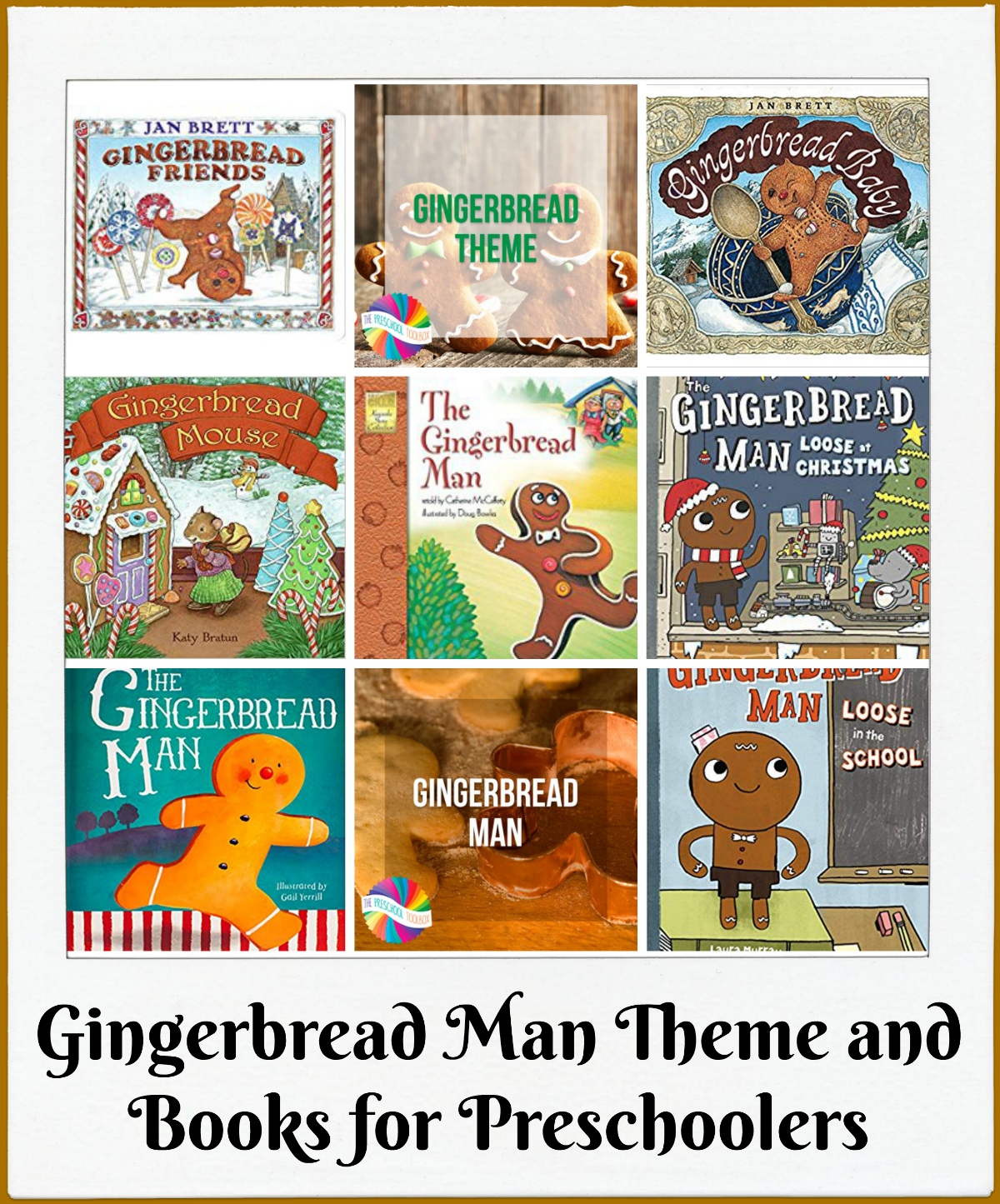 Gingerbread Man Books for Preschoolers