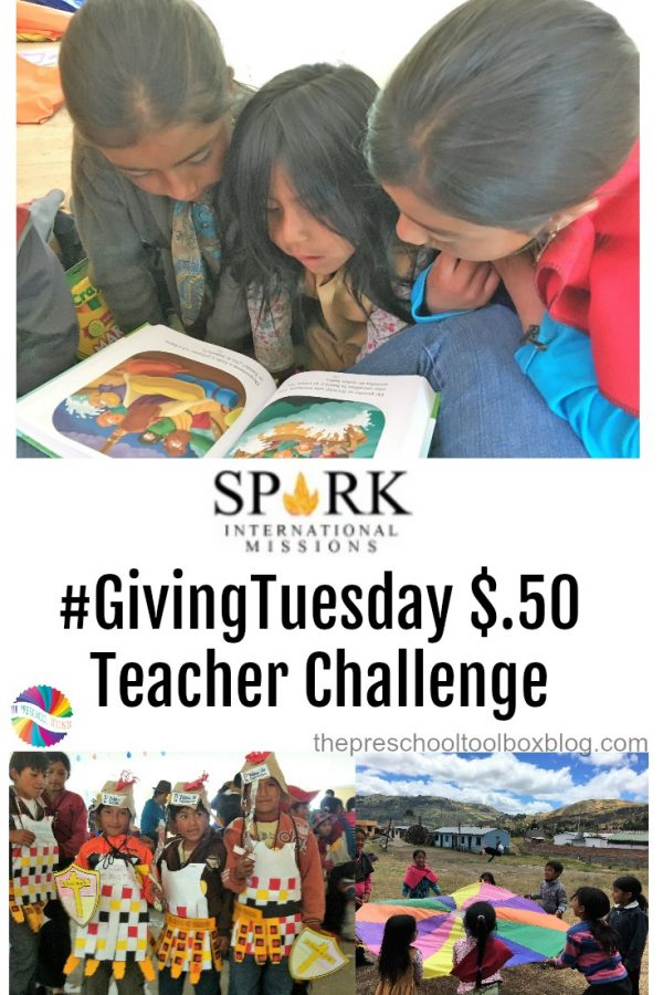 #GivingTuesday Teacher Challenge to Benefit Spark International Missions