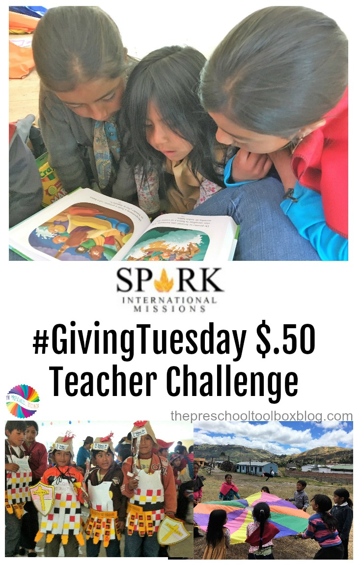 #GivingTuesday Teacher Challenge to Benefit Spark International Missions. Please join me in helping another teacher who helps so many. #10FeaturedTeachers #ShapetheFuture