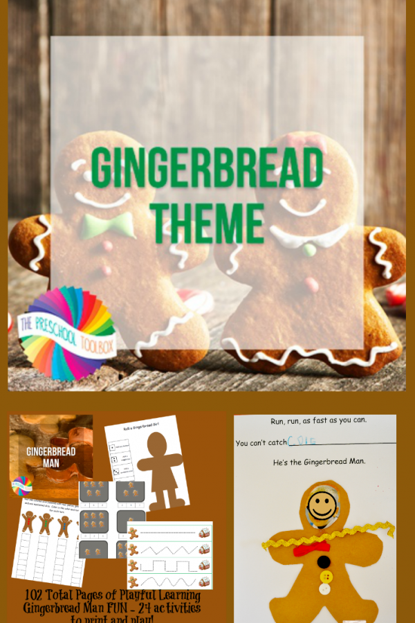 Gingerbread Man Theme and Lesson Plans for Playful Learning in Preschool!