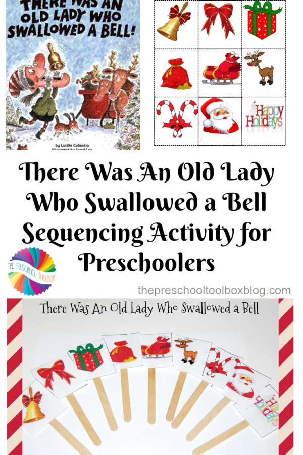 There Was An Old Lady Who Swallowed a Bell: Sequencing and Power Point for Preschoolers!