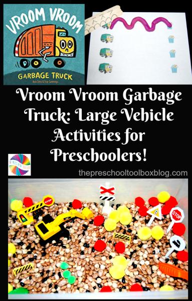 Garbage Truck Book and Activities for Preschoolers