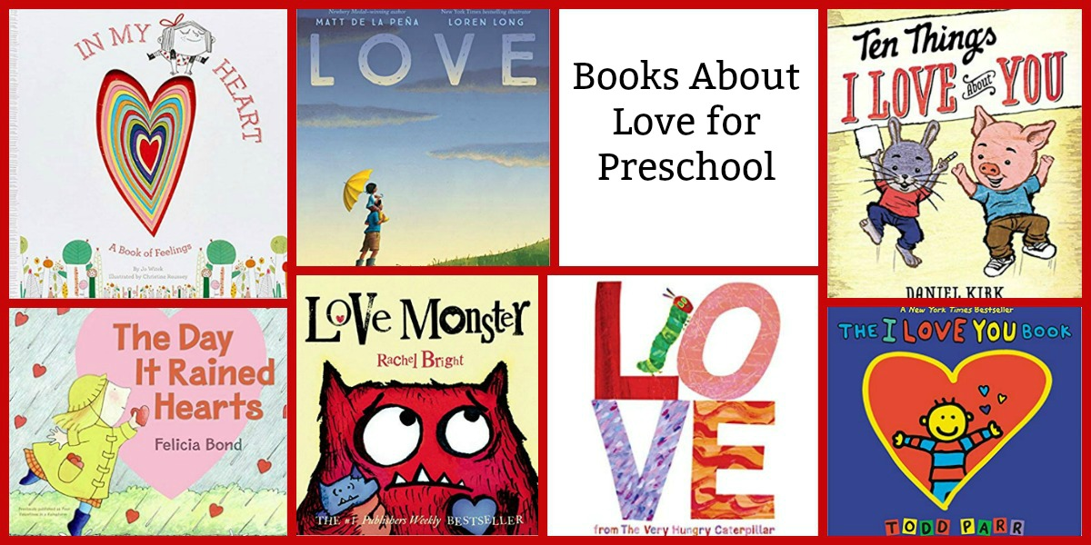 Preschool Books about Love