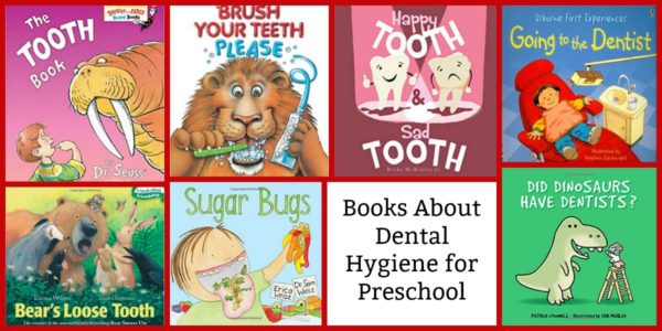 Books for Dental Health Month for Preschoolers