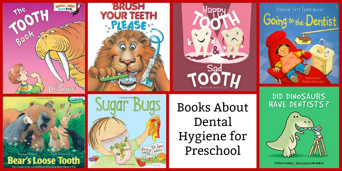 Books for Dental Health Month for Preschoolers