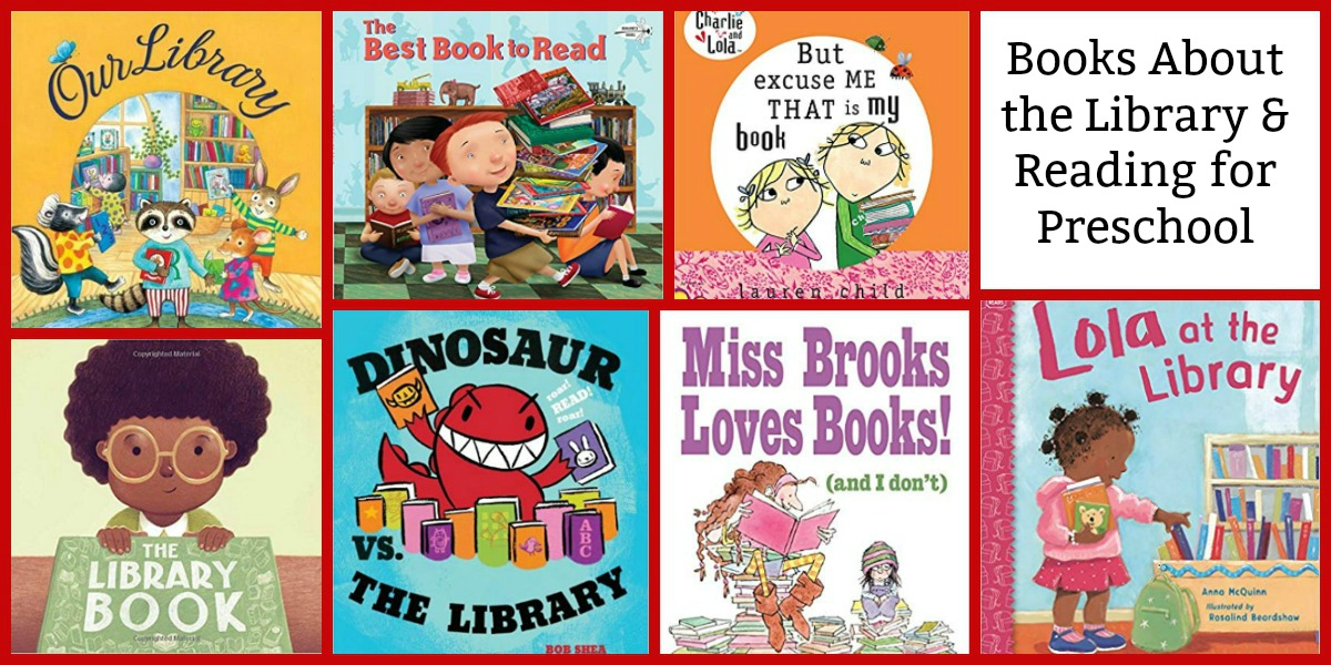 Books about visiting a library with preschoolers