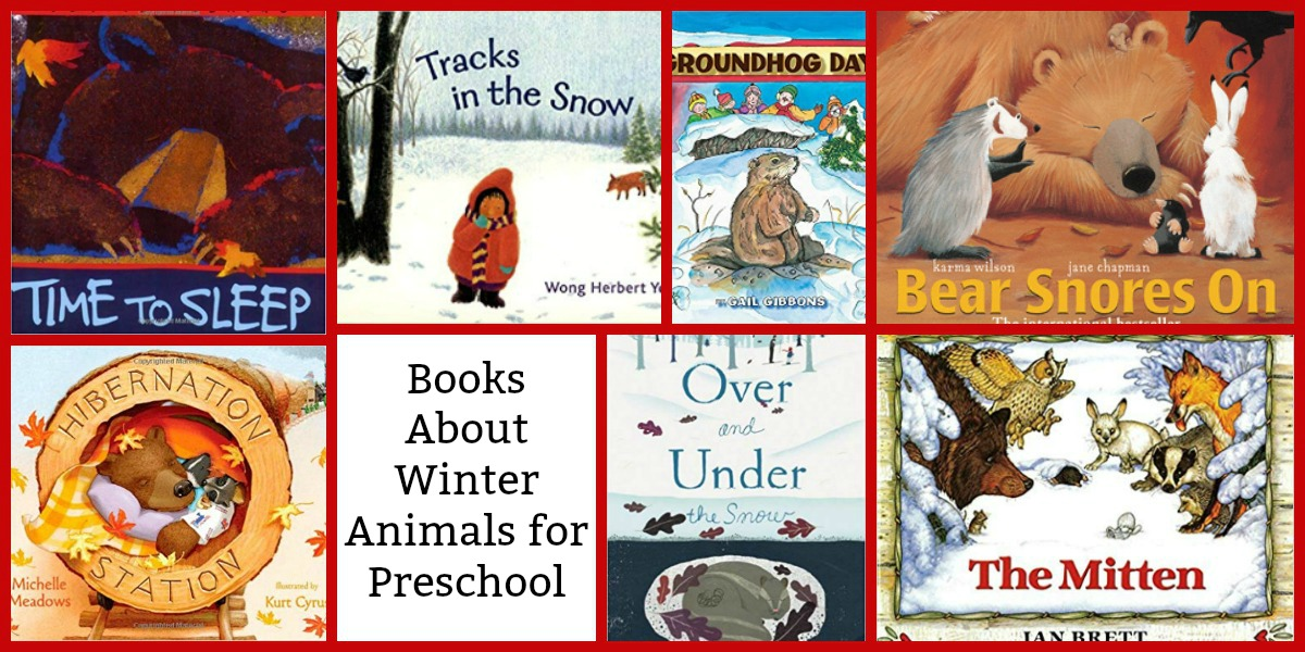 winter animals books for preschoolers