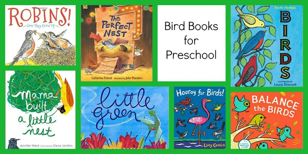 Books About Birds for Preschoolers