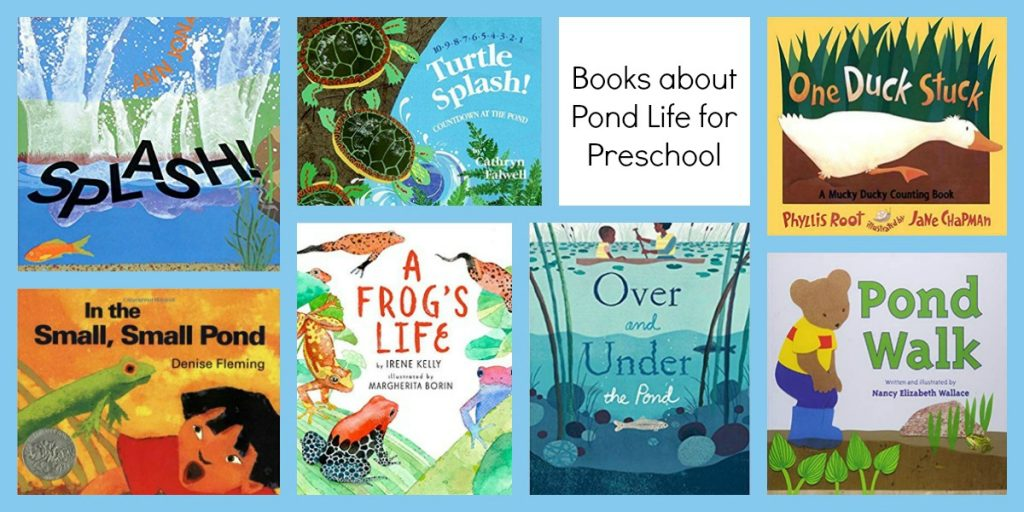Books about Pond Life for Preschoolers